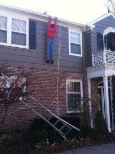 guy lost ladder