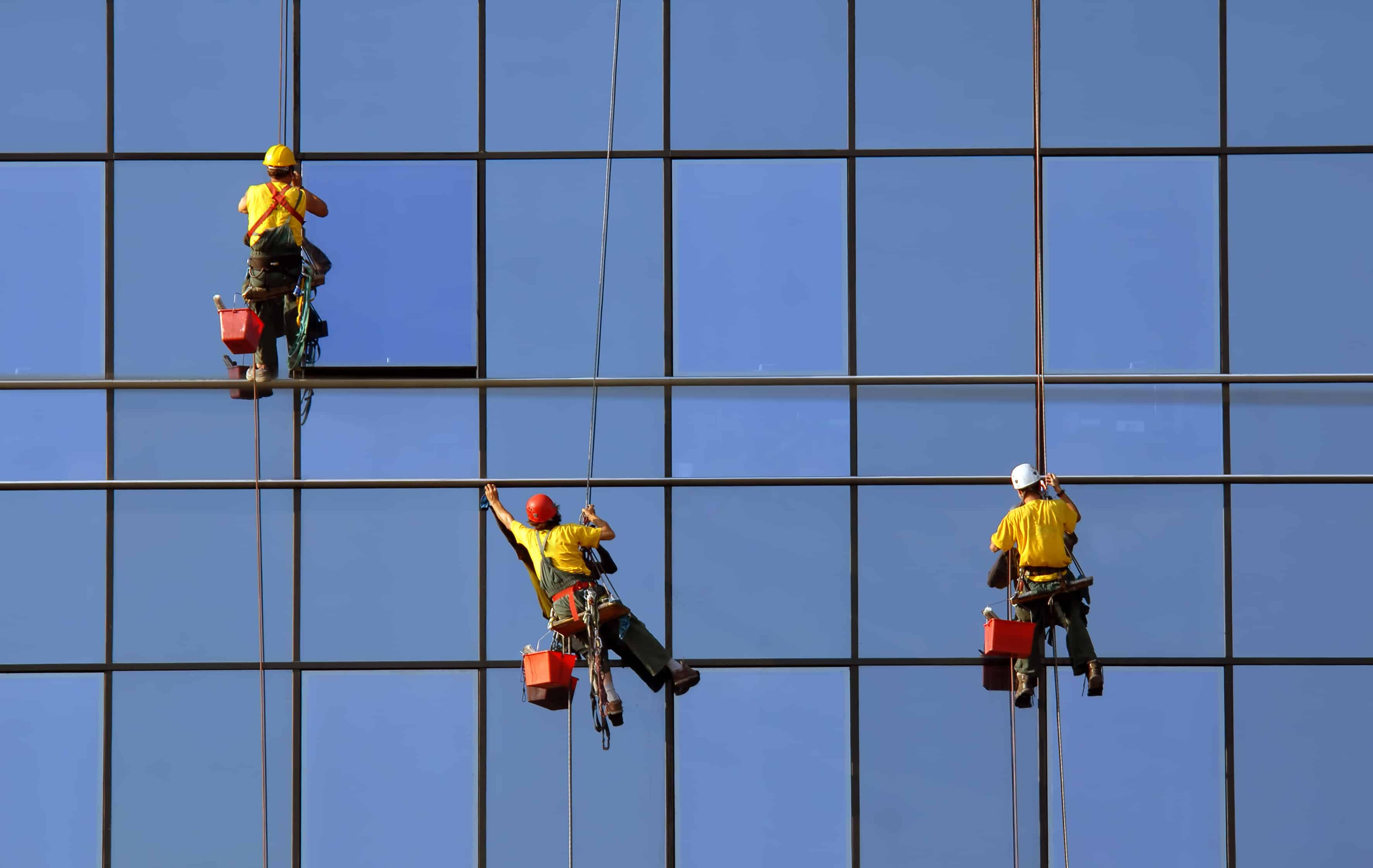 Commercial window washing north olmsted for Window washing